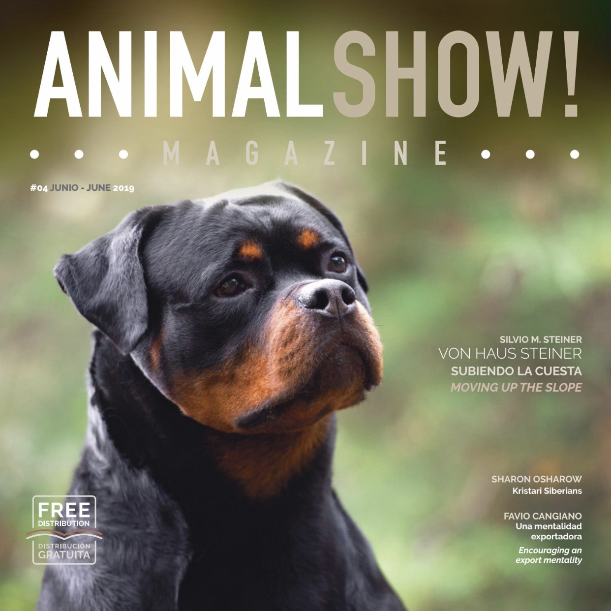 Animal Show Magazine - 4th Edition - Premium Dog Show Magazine